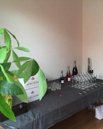Champagneproeverij bij u thuis